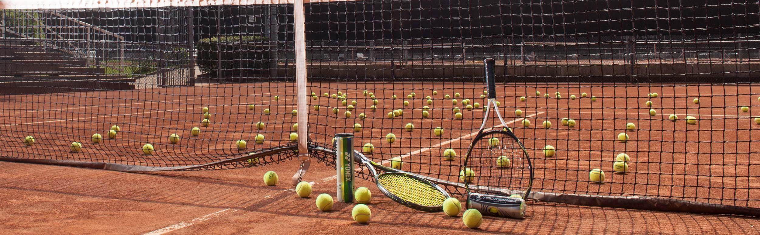 At Vantage Tennis Academy - Header
