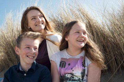 Familie fotoshoot - broers en zussen
