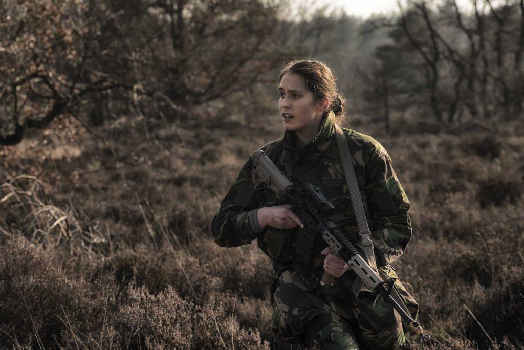 Fotoreportage Landmacht Reservisten - overzicht houden