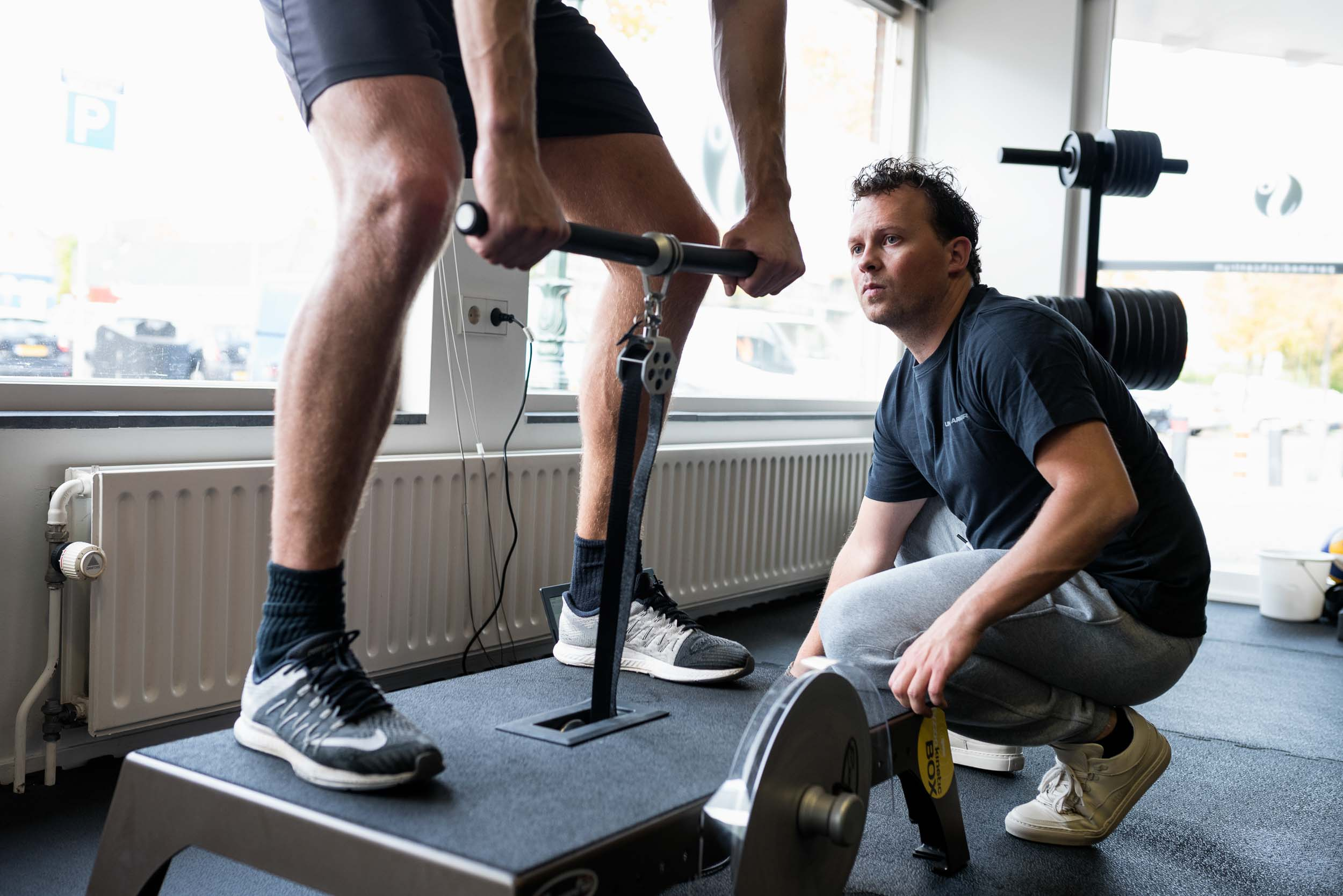 Bedrijsreportage Jip Regtop Fysiotherapie - Situatie Flywheel