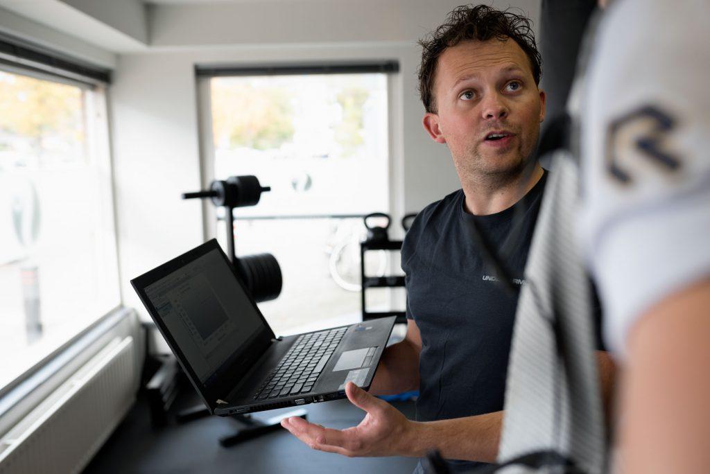 Bedrijsreportage Jip Regtop Fysiotherapie - Situatie Resultaten doornemen