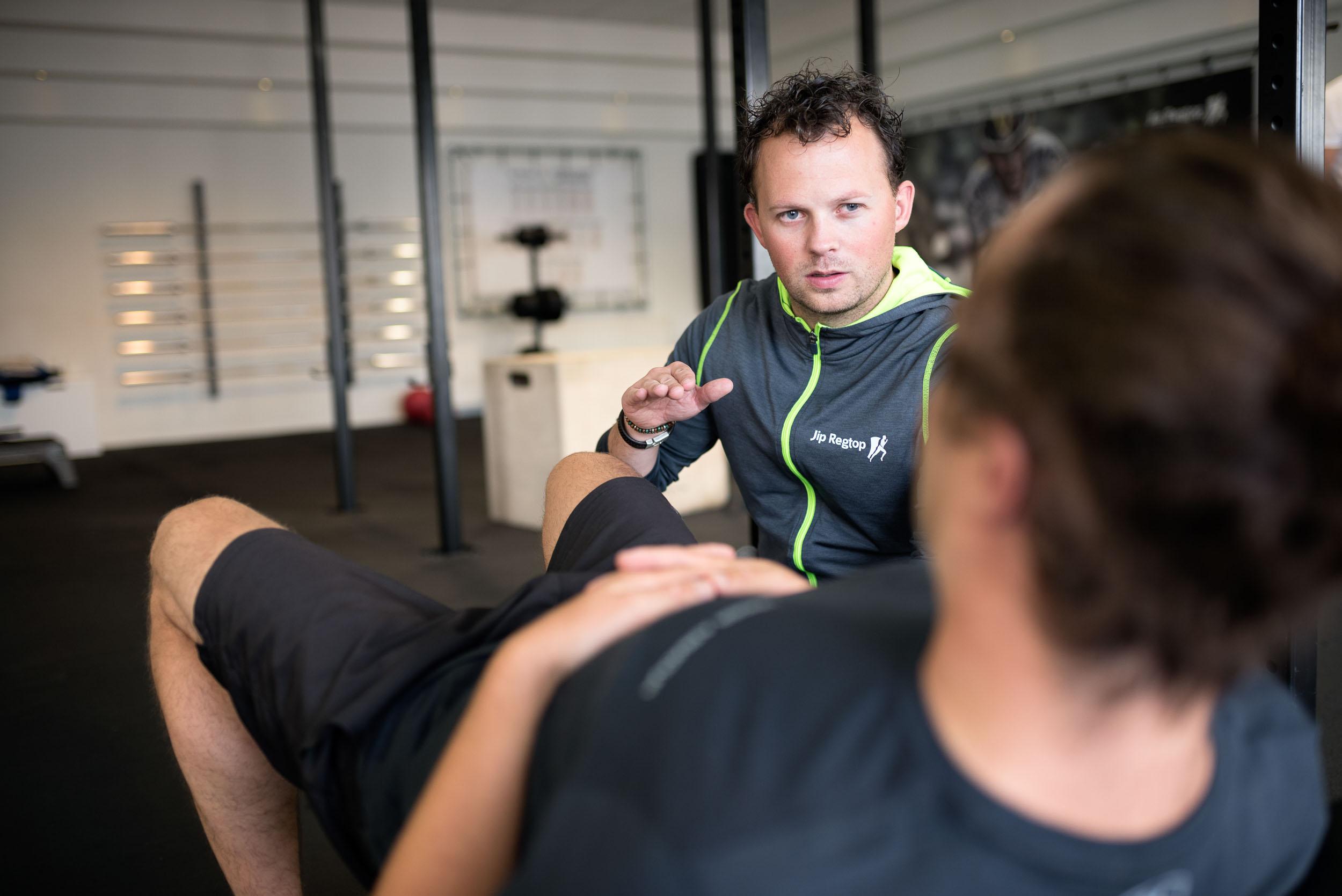 Bedrijsreportage Jip Regtop Fysiotherapie - Situatie Sportfysio coaching