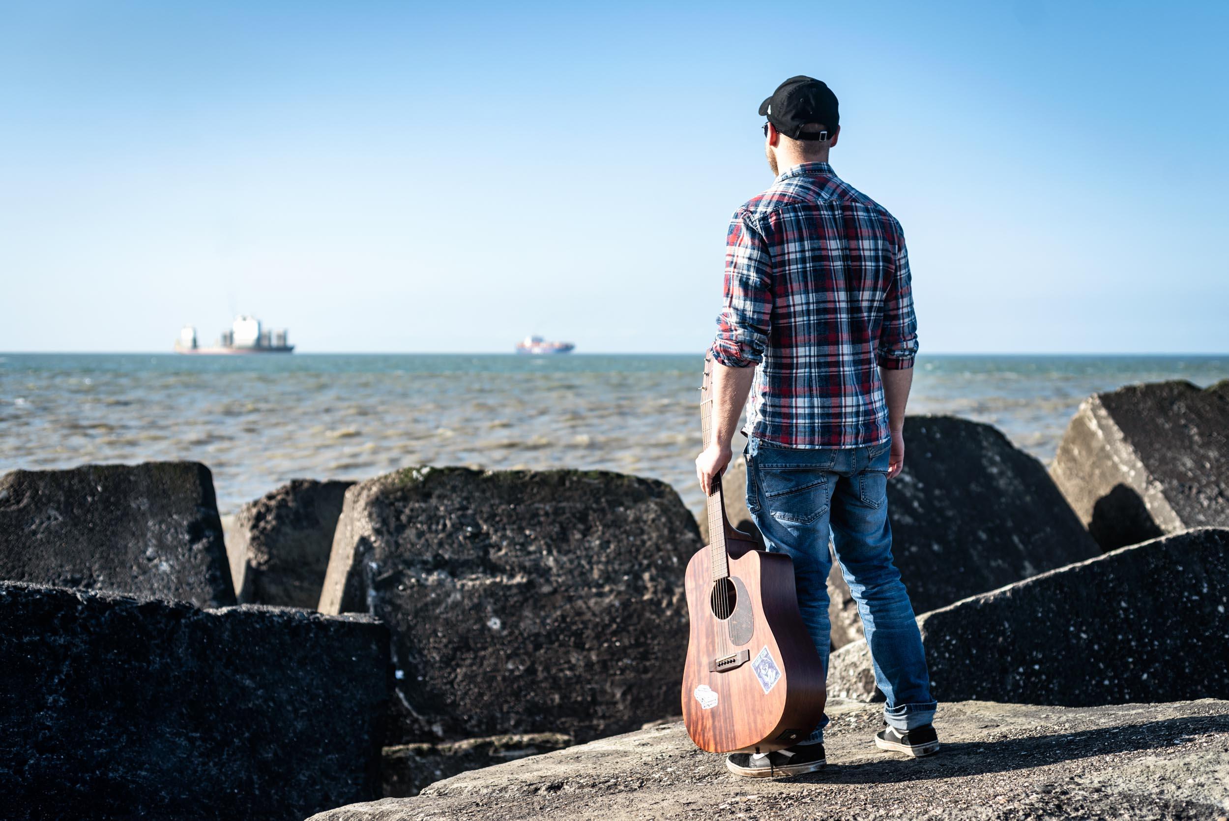 Fotoreportage Perry Smit Music - uitzicht