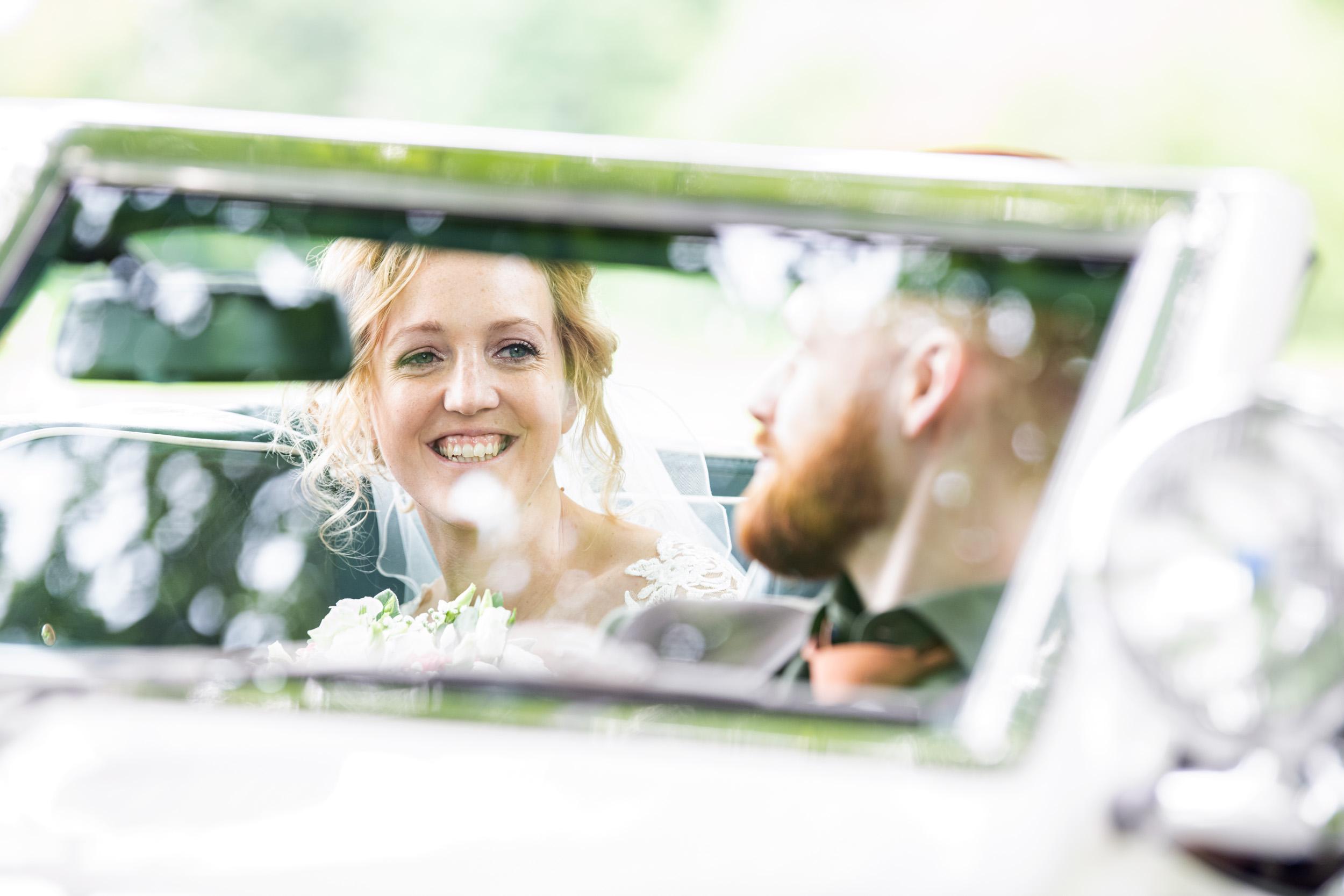 De trouwfotograaf zorgt voor mooie herinneringen
